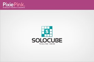 Solo Cube Logo Template