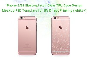 iPhone 6s ElectroClear TPU Case Mock