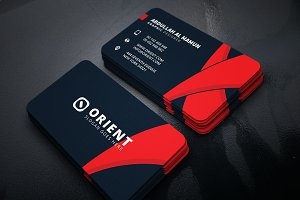 Orient Corporate Business Card