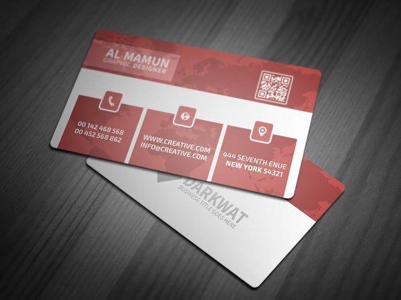Reed corporate business card business card templates creative market colourmoves