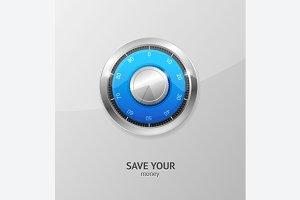Save Money Concept. Vector