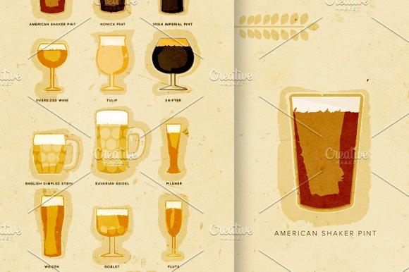 Beer Drinking Glasses