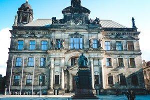 Building of Land Court in Dresden