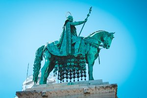 Monument of Istvan Great