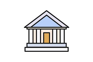 Bank Office Icon