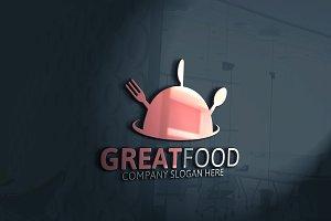 Great Food Logo Discount % 25