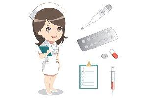 Nurse concept