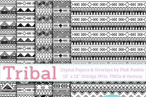 Tribal Seamless Backgrounds/Overlays