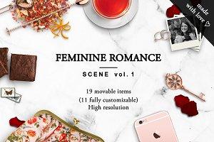 FEMININE ROMANCE - Scene Vol. 1