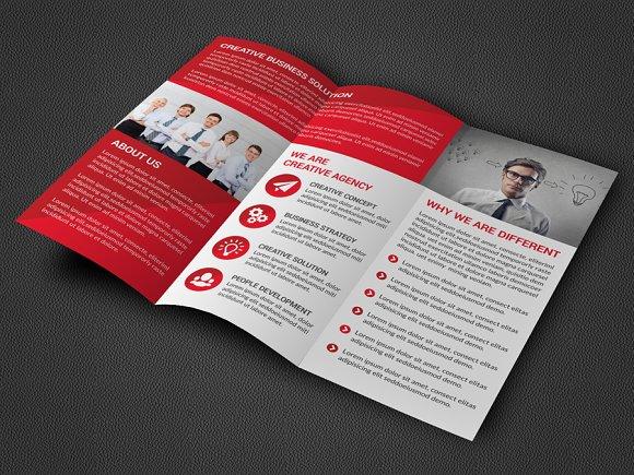 Corporate Trifold Brochure Brochure Templates Creative Market – Tri Fold Brochure
