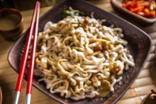 Thai dishes menu
