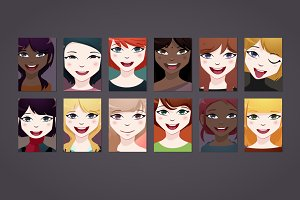 12 x Girl Poster