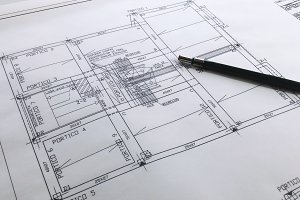 Structural details drawing