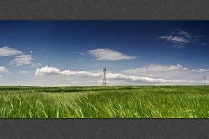 Green Field Panorama 2