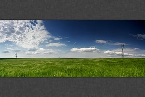 Green Field Panorama 3