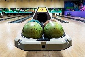 Bowling Ball Bokeh