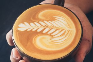 coffee latte art