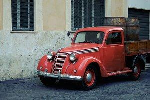 Retro car, Fiat 1100