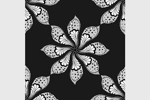 Vector Doodle mandala.