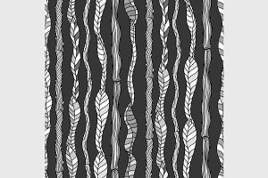 seamless pattern with branche