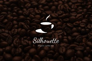 Silhouette Organic Coffee Bar Logo