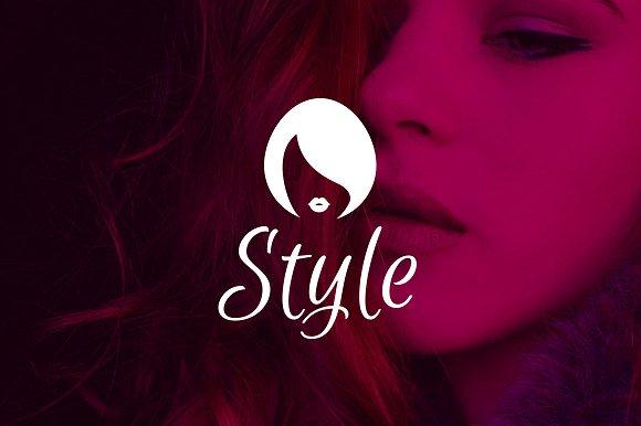 beauty hair logos salon templates template