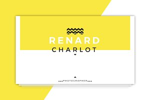 Renard Charlot Business Card