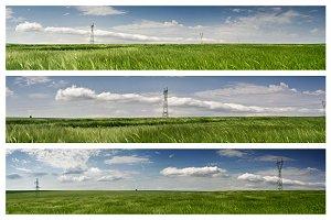 Green Field Panoramas Pack