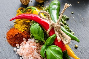 Spices for healthy cooking