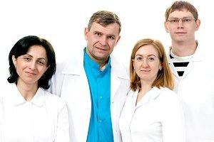 Professional medic team