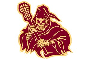 Grim Reaper Lacrosse Defense Pole