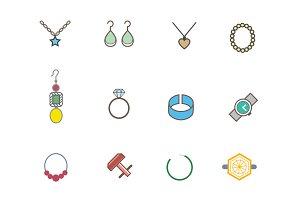 12 Jewellery Icons