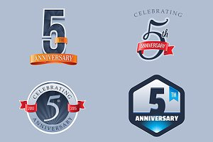 5th Anniversary Logo
