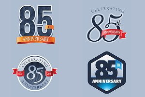 85th Anniversary Logo