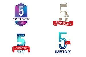 5th Anniversary Symbol