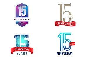 15th Anniversary Symbol