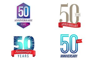 50th Anniversary Symbol