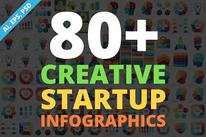 Creative Infographics. PSD Included!