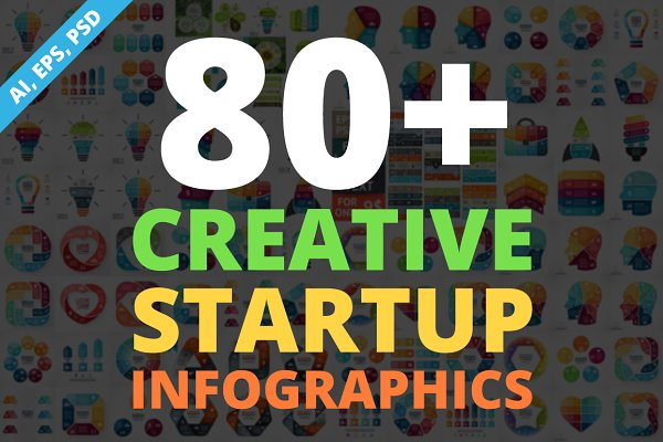 Creative Infographics. PSD Included…
