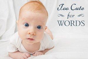 Newborn Quote Overlays
