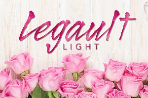 Legault Light Hand-Drawn Script