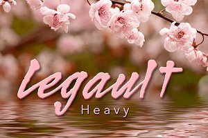 Legault Heavy Script Hand-Drawn
