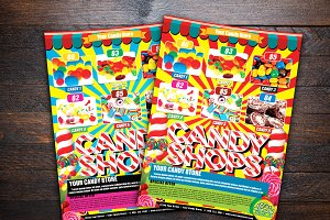 Candylicious Candy Shop Flyer