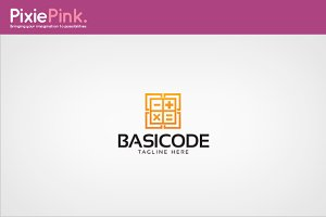 Basic Code Logo Template