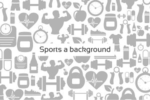 Sports a background