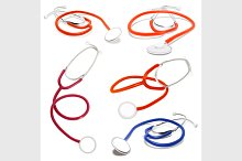 Set of Stethoscope