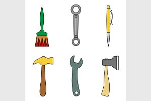 Set of tools.