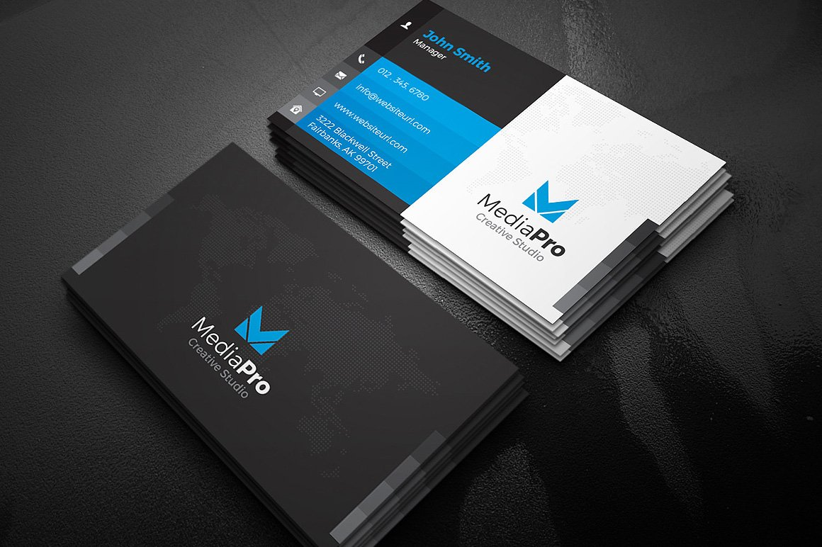 Modern creative business card business card templates creative modern creative business card business card templates creative market pro flashek Images
