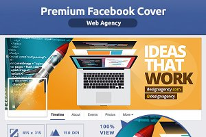 50% OFF- Web Design Agency FB Cover