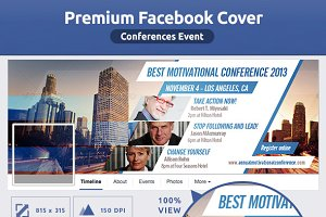 50% OFF- Conferences Event FB Cover